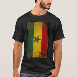Vintage Grunge Ghana Flag T-Shirt