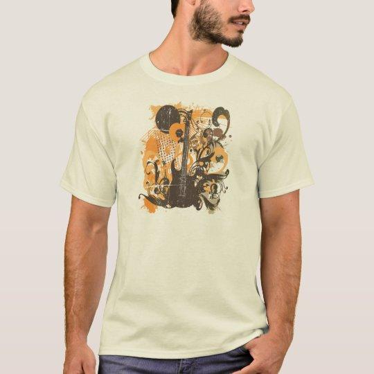 Vintage Grunge Guitar T-Shirt