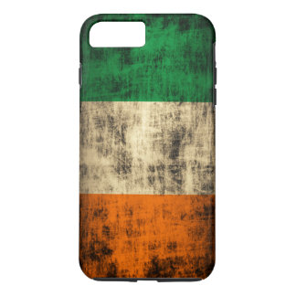 Vintage Grunge Irish Flag iPhone 7 Plus Case