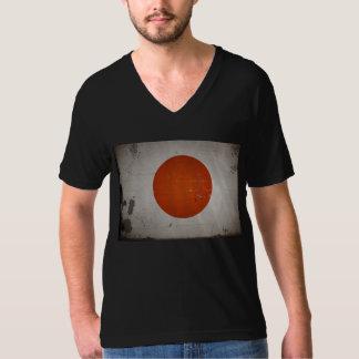 Vintage Grunge Japan Flag Shirts