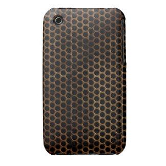 Vintage Grunge Metal Design Blackberry Curve case