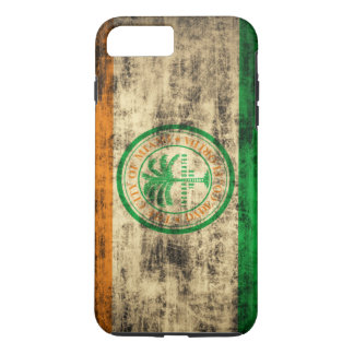 Vintage Grunge Miami Flag Florida iPhone 7 Plus Case
