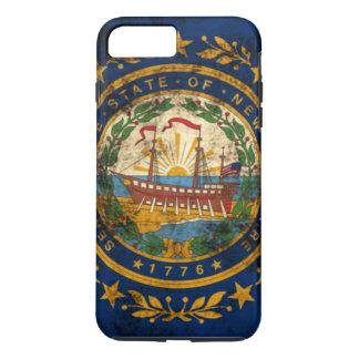 Vintage Grunge New Hampshire Flag iPhone 7 Plus Case