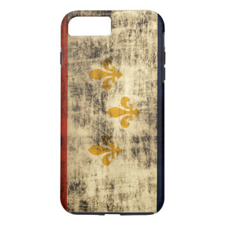 Vintage Grunge New Orleans Flag iPhone 7 Plus Case