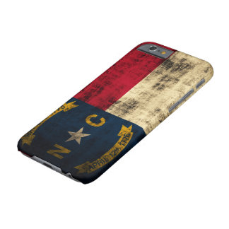 Vintage Grunge North Carolina Flag Barely There iPhone 6 Case