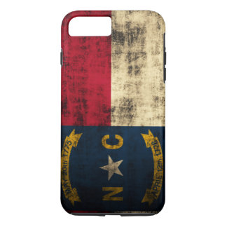 Vintage Grunge North Carolina Flag iPhone 8 Plus/7 Plus Case