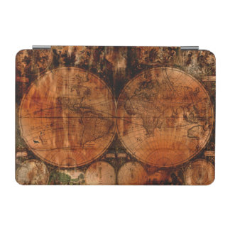 Vintage Grunge Old World Map iPad Mini Cover