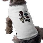Vintage Grunge Retro Cameras Fashion Sleeveless Dog Shirt