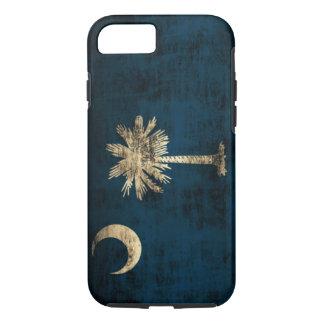 Vintage Grunge South Carolina Flag iPhone 7 Case