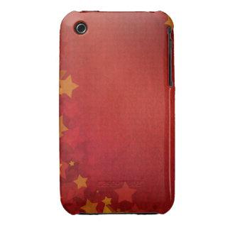 Vintage Grunge Stars Design Blackberry Curve case