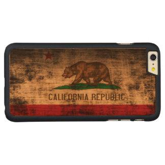Vintage Grunge State Flag of California Republic iPhone 6 Plus Case