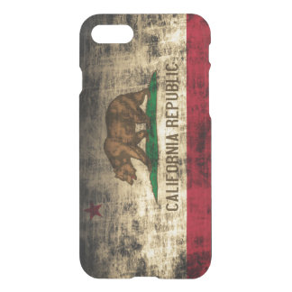 Vintage Grunge State Flag of California Republic iPhone 7 Case