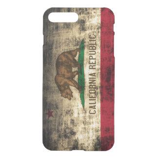 Vintage Grunge State Flag of California Republic iPhone 7 Plus Case