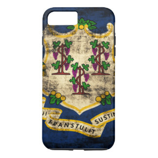 Vintage Grunge State Flag of Connecticut iPhone 7 Plus Case