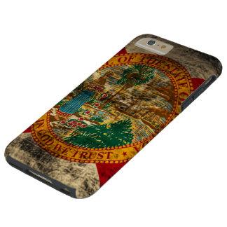 Vintage Grunge State Flag of Florida Tough iPhone 6 Plus Case