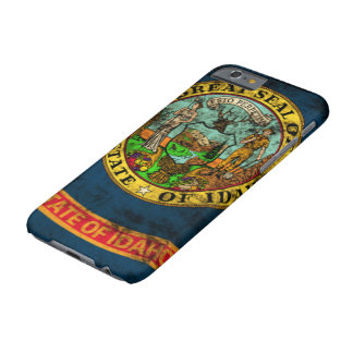 Vintage Grunge State Flag of Idaho Barely There iPhone 6 Case