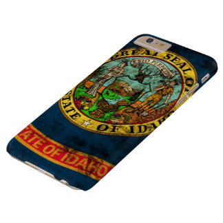 Vintage Grunge State Flag of Idaho Barely There iPhone 6 Plus Case