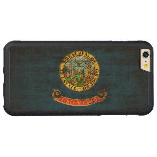 Vintage Grunge State Flag of Idaho iPhone 6 Plus Case