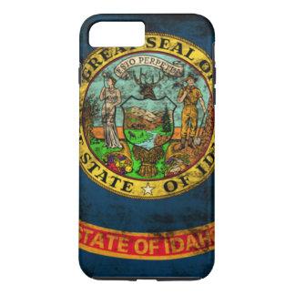 Vintage Grunge State Flag of Idaho iPhone 7 Plus Case