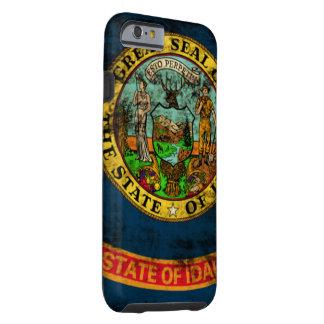 Vintage Grunge State Flag of Idaho Tough iPhone 6 Case