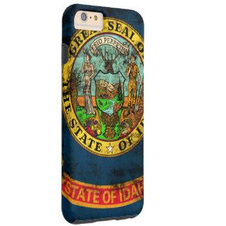Vintage Grunge State Flag of Idaho Tough iPhone 6 Plus Case