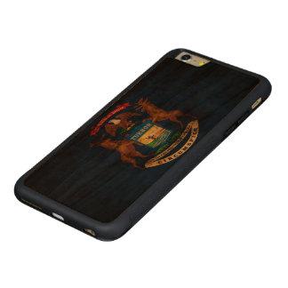 Vintage Grunge State Flag of Michigan iPhone 6 Plus Case