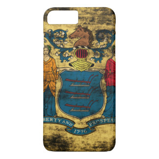 Vintage Grunge State Flag of New Jersey iPhone 7 Plus Case