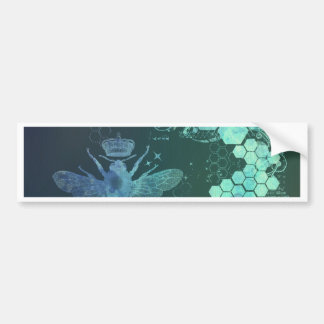 vintage,grunge,teal,green,victorian,floral,chic bumper stickers