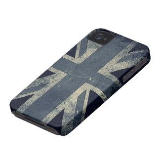 Vintage Grunge UK Flag iPhone 4 Case