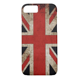 Vintage Grunge UK Flag iPhone 8/7 Case