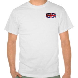 Vintage Grunge UK Flag Tee Shirt