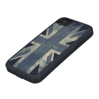 Vintage Grunge UK Flag Tough Xtreme iPhone 5 Case