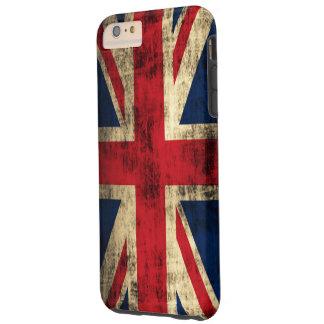 Vintage Grunge Union Jack Flag Tough iPhone 6 Plus Case