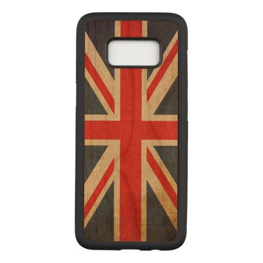 Vintage Grunge Union Jack UK FLAG Carved Samsung