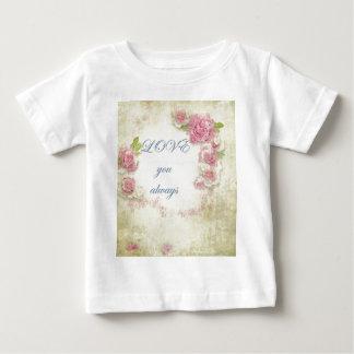 Vintage, grunge, victorian,shabby chic,floral,love t shirt