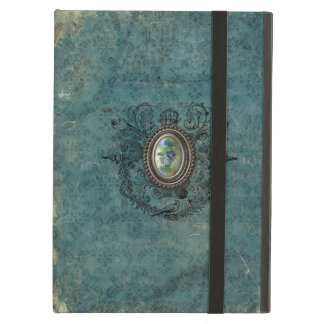 Vintage Grungy Damask iPad Air Cases