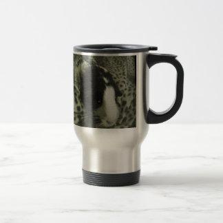 Vintage guinea pig photograph travel mug