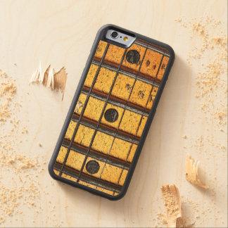 Vintage Guitar Frets Carved Maple iPhone 6 Bumper Case