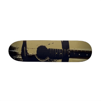 Vintage Guitar Skateboard