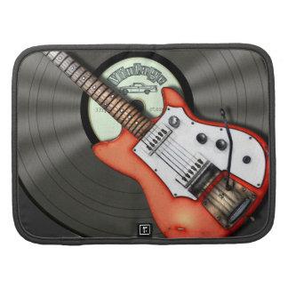 Vintage Guitar Vinyl Record Planners