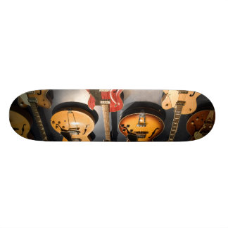 Vintage Guitars 21.6 Cm Skateboard Deck