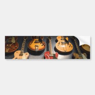Vintage Guitars Bumper Sticker