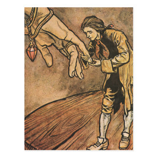 Vintage Gulliver's Travels by Arthur Rackham Postcard