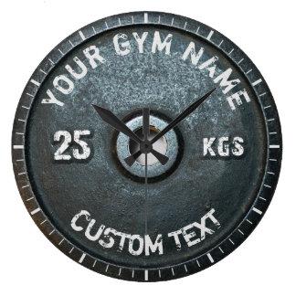Vintage Gym Owner or User Fitness Funny Wallclock
