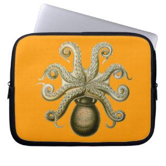 Vintage Haeckel Octopus Laptop Sleeve