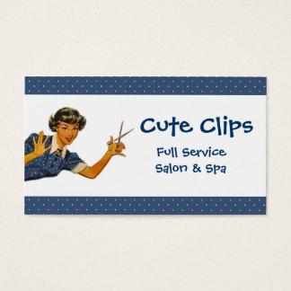 Vintage Hairdresser or Salon Business Card