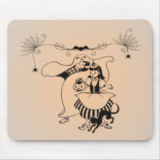 Vintage Halloween Art Gifts Mouse Pad
