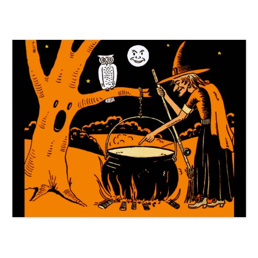 Vintage Halloween Art Post Cards