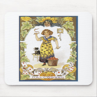 Vintage Halloween Card Mousepads