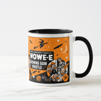 Vintage Halloween Chewing Gum Whistle